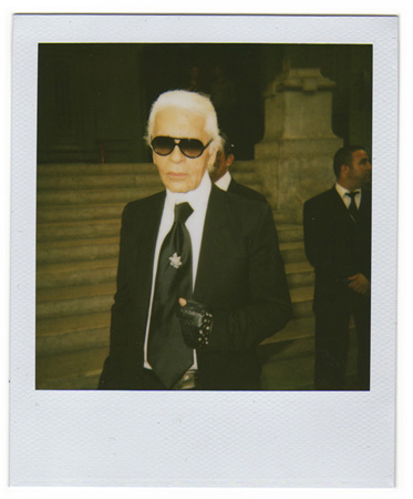 Karl Lagerfeld by Antonio Barros