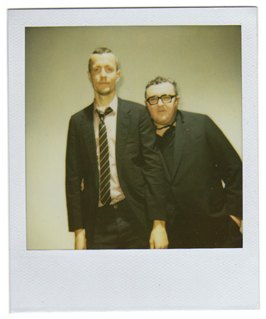Lucas Ossendrijver and Alber Elbaz by Antonio Barros