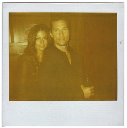 Camila Alves and Matthew McConaughey by Antonio Barros