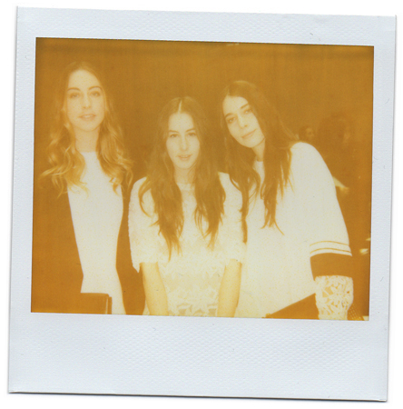 Este, Danielle and Alana Haim by Antonio Barros
