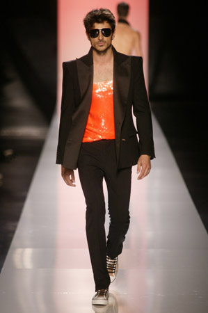 jean paul gaultier s/s 2010 - men's wear - Paris by Antonio Barros